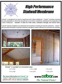 Celbar Cellulose Insulation Brochure